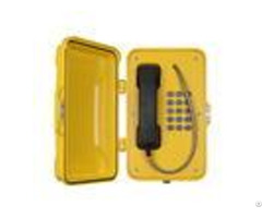 Moisture Resistant Voice Over Ip Phonewall Pillar Mounting For Heavy Duty Industry
