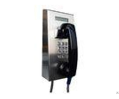 Ip65 Vandal Resistant Telephone Stainless Steel Robust Housing For Tunnel Control Room