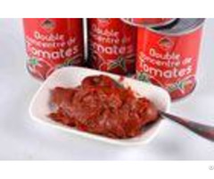 Iso Certification Canned Tomato Paste With High Temperature Sterilization