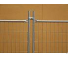 Hot Galvanized Steel Temporary Fencing Excellent Corrosion Resistance Neat Surface