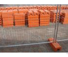 Bright Color Australian Temporary Fencing Rust Proof With Plastic Feet