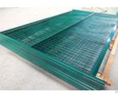 Canada Removable Temporary Fence Powder Coating Surface Treatment With Flat Feet