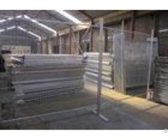 Public Security Event Steel Temporary Fencing Weather Resistant And Durable