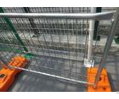 Road Site Safe Galvanized Temporary Fence Removable Feet Makes Transportation Easier