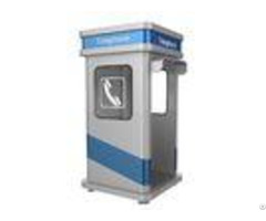 Robust Acoustic Telephone Phone Impact Resistant Kiosk For Noisy Industry