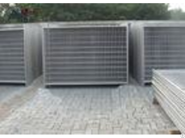 Outdoor Steel Temporary Fencing Site Fence Panels For Sporting Safety Events