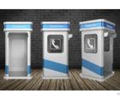 Corrosion Resistant Heavy Duty Industrial Phone Kiosk For Noisy Areas