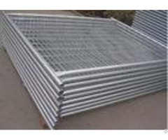 38mm Pipe Removable Builders Temporary Fencing For Construction Site