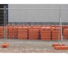 6ftx10ft Portable Interlocking Fence Panels For Domestic Housing Sites