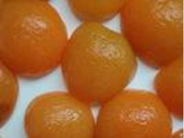 Natural Fresh Safe Canned Apricot Halves In Heavy Syrup 40% Max Moisture