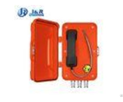 Anti Corrosion Auto Dial Heavy Duty Telephonebox With Power Over Ethernet Powered