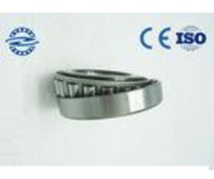 Silvery Color Single Row Tapered Roller Bearing 33111 55 With Mild Steel Plate Retainer