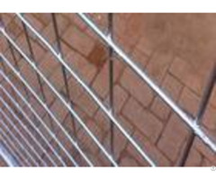 Pre Galvanized Frame Temporary Fence Panels 4mm Diameter Custom Color