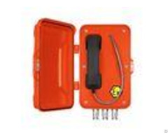 Auto Dial Analog Explosion Proof Telephone With Aluminium Alloy Material Case