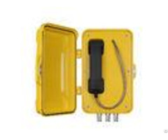 Voip Speed Dial Outdoor Telephone Box For Heavy Duty Chemical Power Industry
