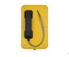 Impact Resistant Industrial Voip Phone Watertight Rugged Mining Telephone