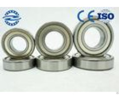 Miniature Deep Groove Ball Bearings 6000 Series 6002 2zr With Small Friction Resistance