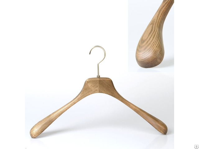 Luxury Wood Clothes Hanger
