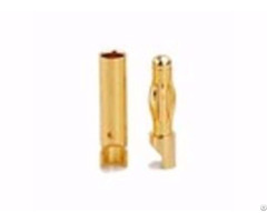 Amass Gold Plated 4 0mm Banana High Current Connector From China
