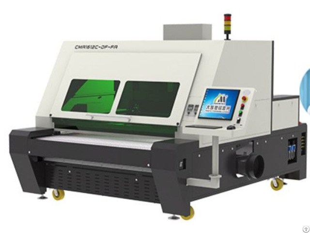 Double Heads Asynchronous Laser Cutting Machine For Vamp Cut