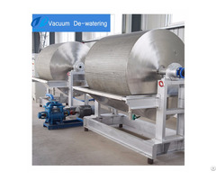 The Rotary Vacuum Filter For Starch Production
