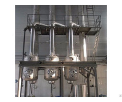 Evaporator For Glucose Syrup Processing