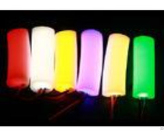 Bedroom Round Shape Led Neon Flex Strip 360 Degree Lighting Pvc Material