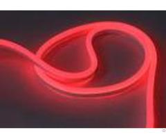Red Mini Led Neon Flex Eco Friendly Uv Resistant Pvc Material Housing