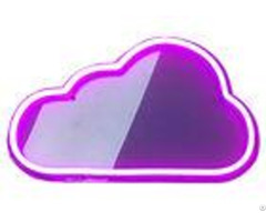Nice Cloud Led Neon Signs Hazard Free Environment Friendly Material