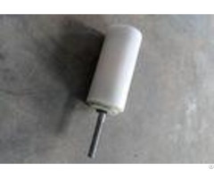 White Uhmw Pe Conveyor Guide Rollers Dia 89x160mm Nylon Bearing Housing For Elevator