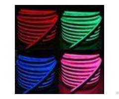 Multi Color Rgb Led Neon Flex Light Waterproof Pvc Housing Material