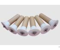 Low Noise Friction Conveyor Belt Rollers Self Aligning Nylon And Uhmw Pe Material