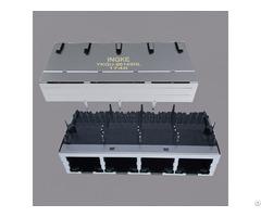 Ingke Ykgu 86149nl Direct Substitute Jg0 0026nl 1x4 Port Magnetic Rj45 Connectors