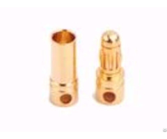 Amass 40amps Gold Plated Bullet Connector Am 1001a High Current Banana Plug