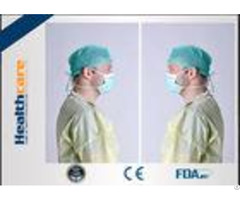 Elastic Cuff Non Woven Disposable Protective Gowns Hospital Isolation Gown Single Use