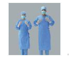Water Resistant Disposable Surgical Gowns Hospital Protective Clothing Sms Standard