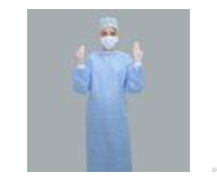 Anti Fluid Nonwoven Disposable Sterile Gowns Dental Protective Clothing Single Use