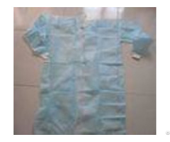 Medical Biodegradable Disposable Surgeon Gown Against Liquid For Hospital Lab