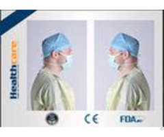 Sterile Nonwoven Protective Clothing Disposable For Doctors Patient Single Use