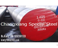 Forged Tool Die Mould Special Steel 1 4021 Flat Round Bar Forging