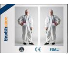 Dust Proof Disposable Protective Gowns Work Clothes For Hospital Chemicals Industry
