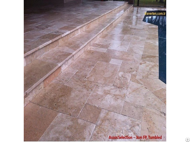 Assos Selection Travertine Marble 1st Quality