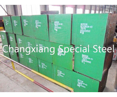 Forged Tool Die Mould Special Steel Skt4 Flat Round Bar Forging