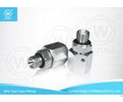 Bsp Thread Hydraulic Pipe Fittings With Ed Seal Cushion And Metric Female 24 Degree Cone