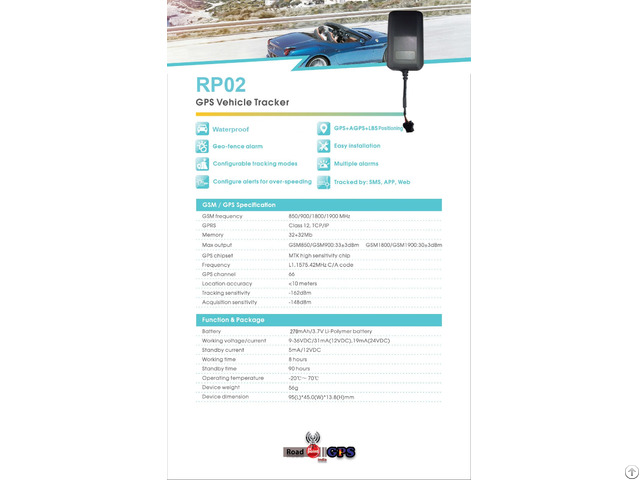 Gps Tracker Device For Vehicle