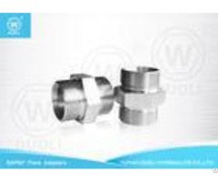 Bsp Metric Hydraulic Flare Fittings Straight Coupling 60 Bonded Seal Pipe Connectors