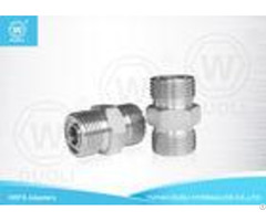 Carbon Steel Hydraulic Male Orfs Adapter Thread O Ring Pipe Fittings