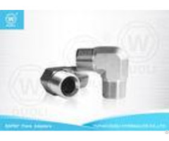 Carbpn Steel Bspt Male Thread Hydraulic Reducing Nipple Pipe Fitting 90 Degree Elbow