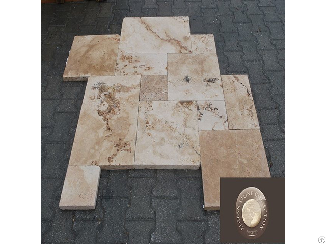 Naturel Selection Travertine Marble