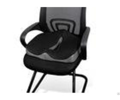 Coccyx Car Bus Driver Seat Cushion Hemorrhoid With Invisible Zipper Cover